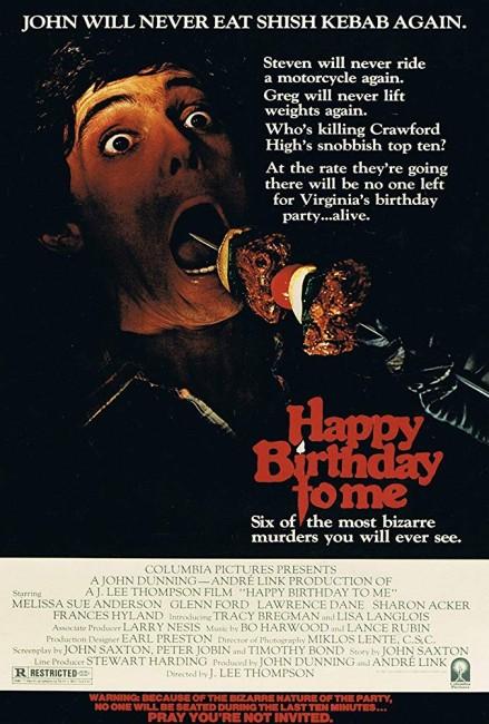 Happy Birthday to Me (1981) poster