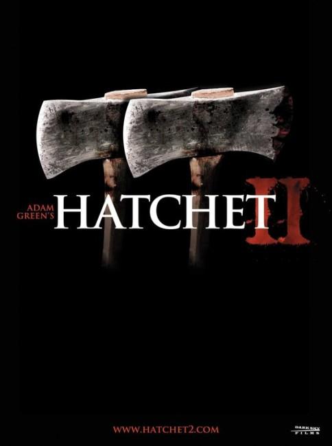 Hatchet II (2010) poster