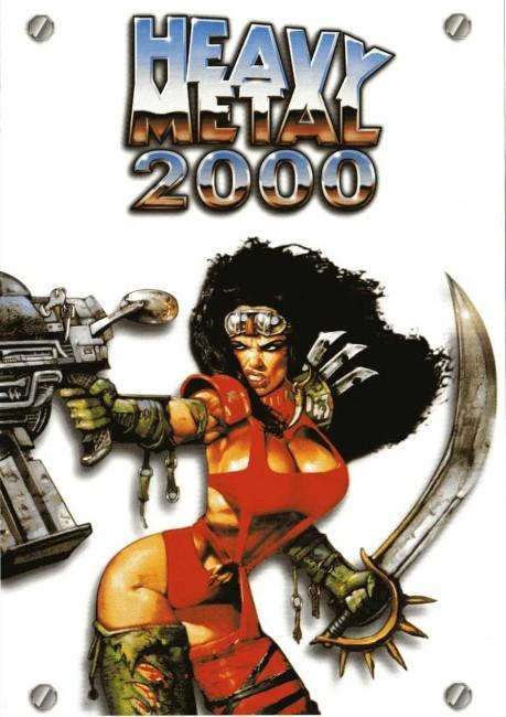 Heavy Metal 2000 (2000) poster