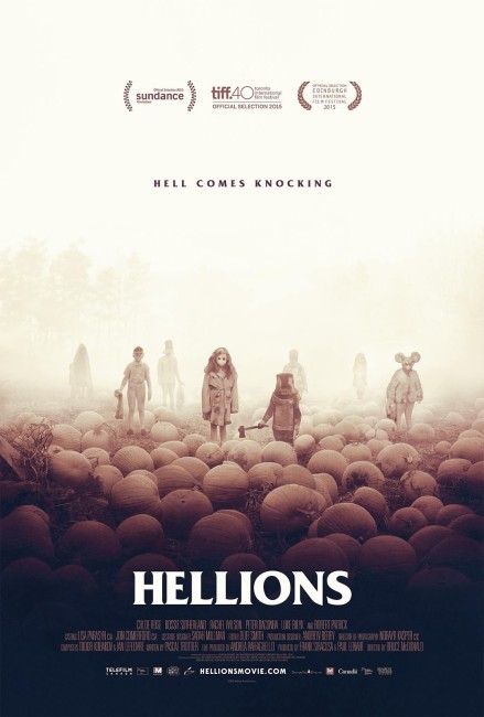Hellions (2015) poster