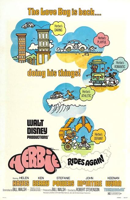 Herbie Rides Again (1974) poster