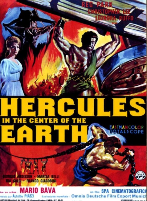 Hercules in the Center of the Earth (1961) poster