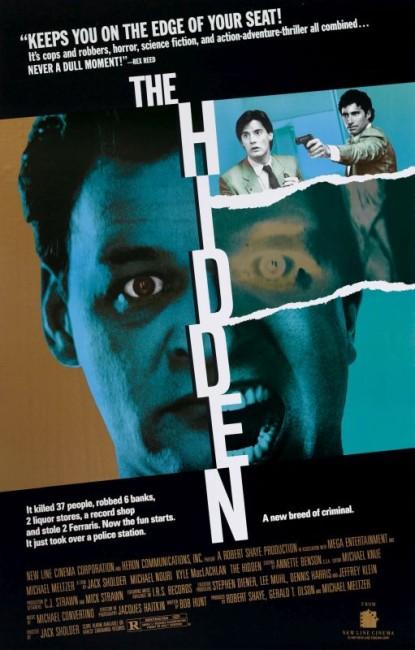 The Hidden (1987) poster
