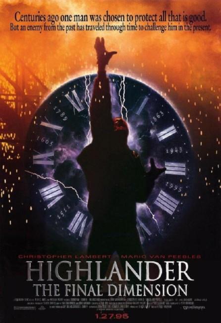 Highlander II: The Sorcerer (1994) poster