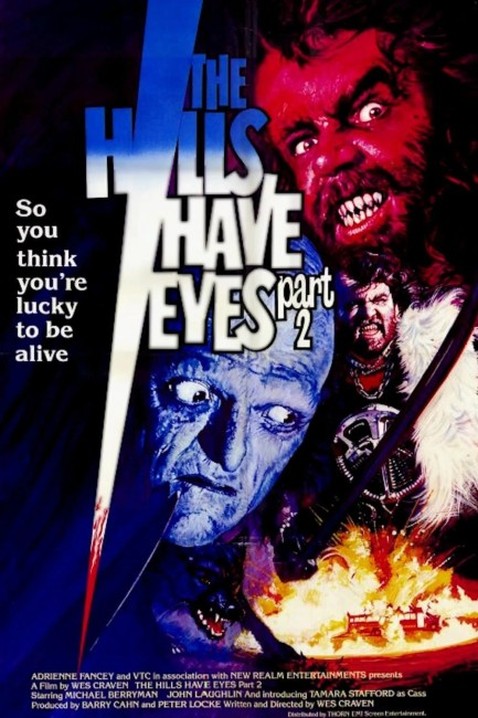 The Hills Have Eyes Part II (1985) poster