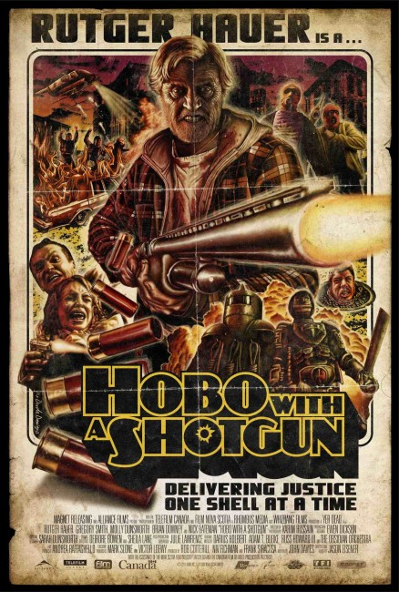Hobo with a Shotgun (2011) poster