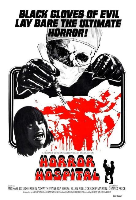 Horror Hospital (1973) poster