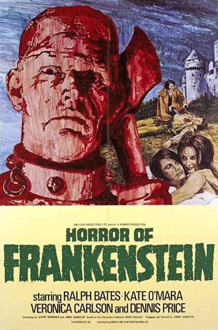 The Horror of Frankenstein (1970) poster