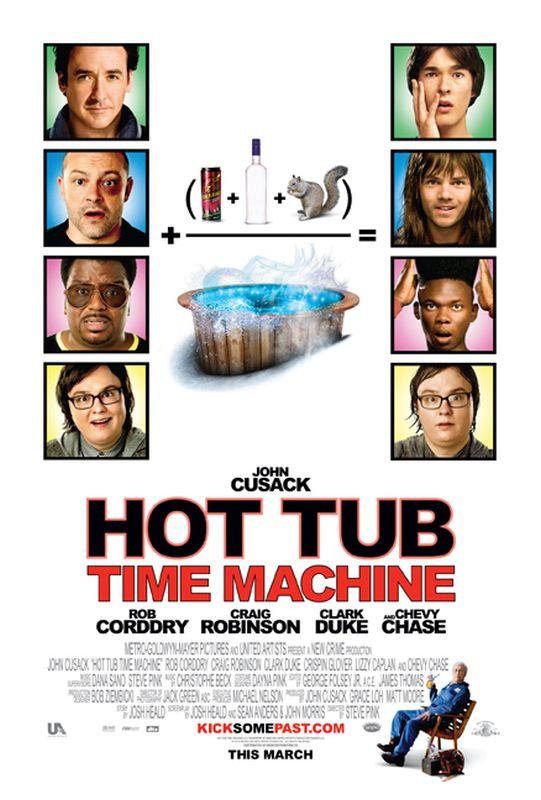 Hot Tub Time Machine (2010) poster