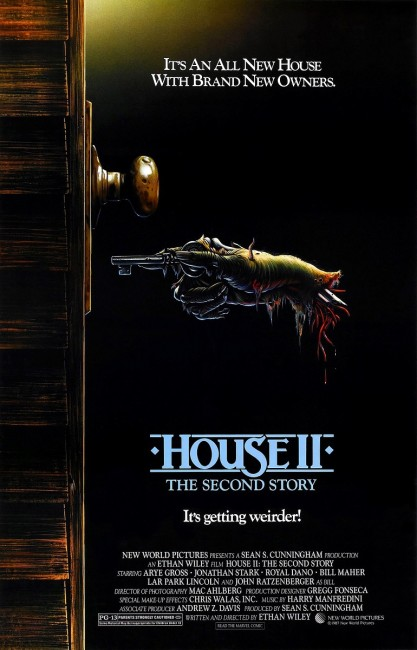 House II: The Second Story (1987) poster