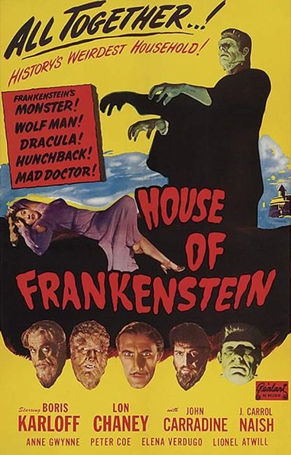House of Frankenstein (1944) poster
