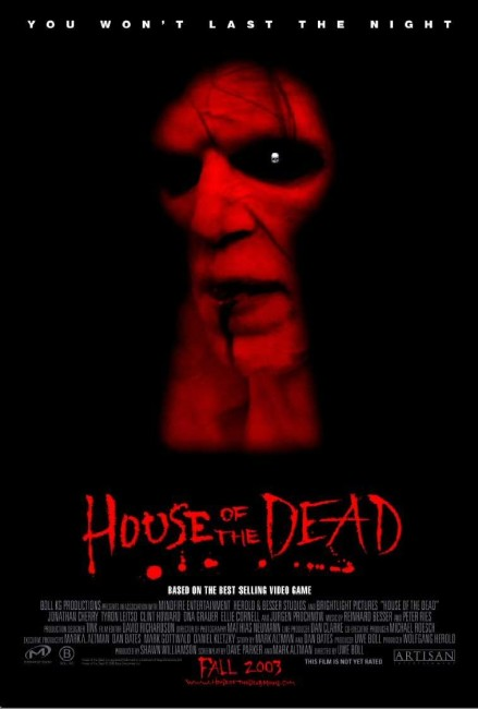 House of the Dead (2003) poster
