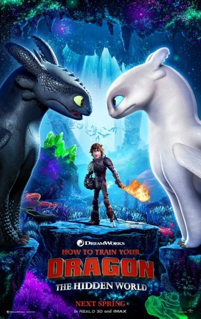 How to Train Your Dragon: The Hidden World (2019) poster
