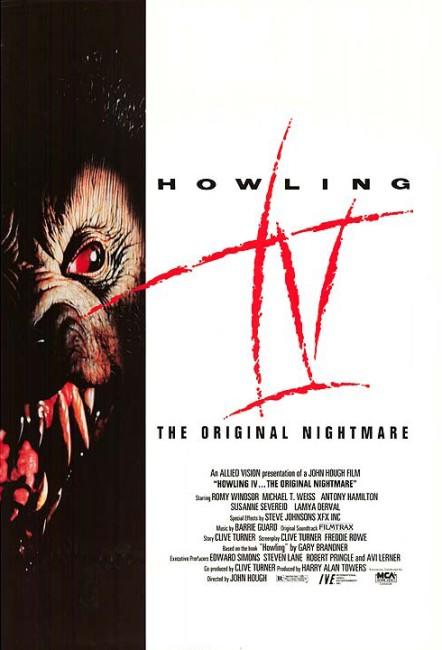 Howling IV: The Original Nightmare (1988) poster