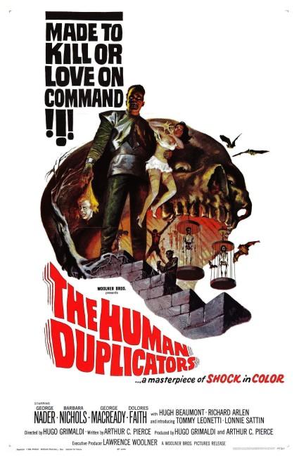 The Human Duplicators (1965) poster