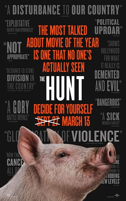 The Hunt (2020) poster