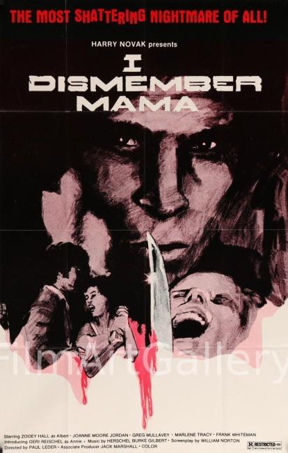 I Dismember Mama (1972) poster