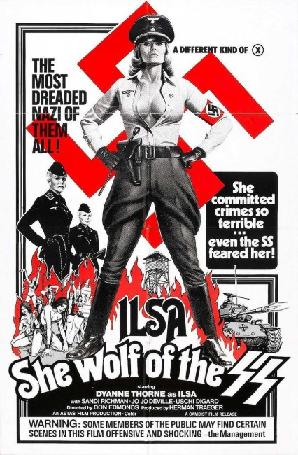 Ilsa, She Wolf of the SS (1974) poster