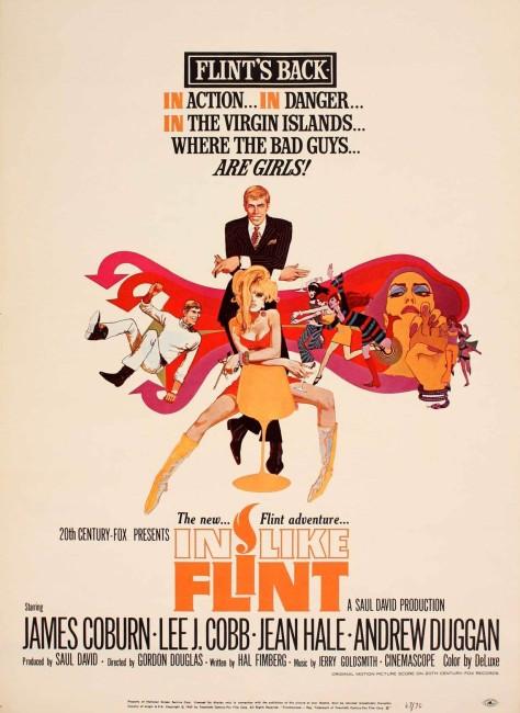 In Like Flint (1967) poster