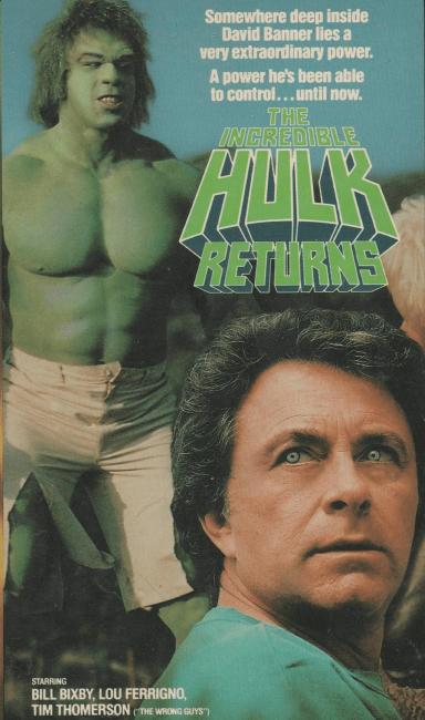 The Incredible Hulk Returns (1988) poster