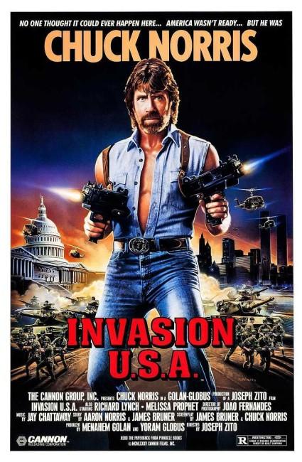Invasion U.S.A. (1985) poster