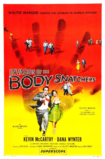 Invasion of the Body Snatchers (1956) poster