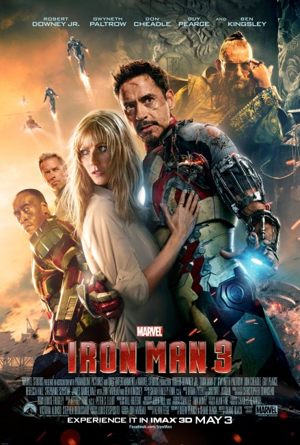 Iron Man Three (2013) poster