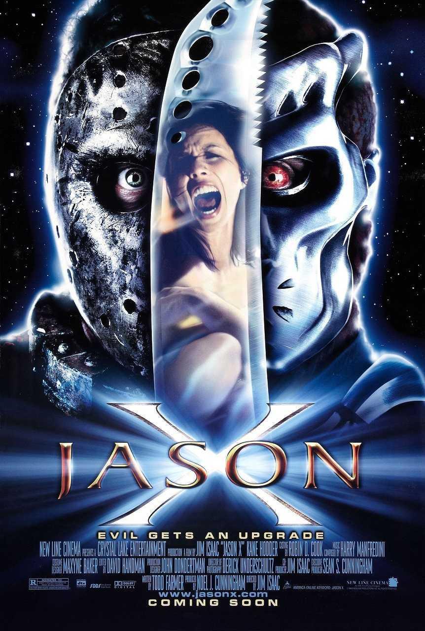Jason X (2001) poster