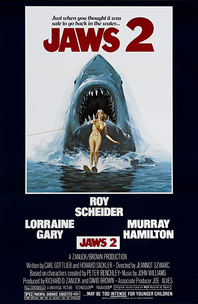 Jaws 2 (1978) poster