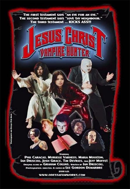 Jesus Christ, Vampire Hunter (2001) poster
