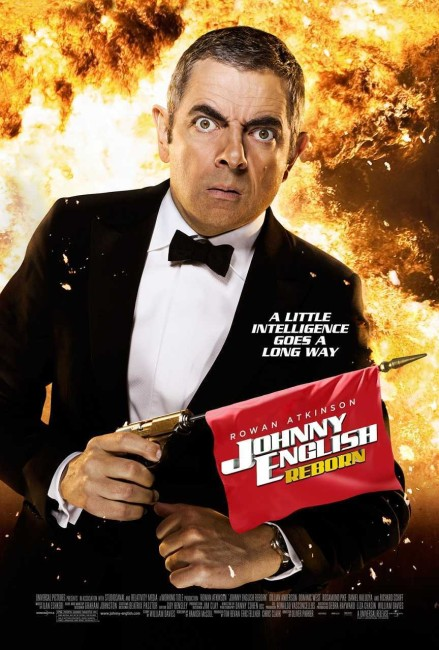 Johnny English Reborn (2011) poster