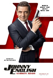 Johnny English Strikes Again (2018) poster