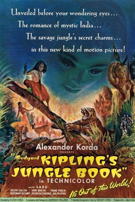 Jungle Book (1942) poster