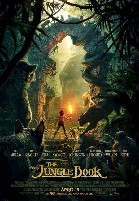 The Jungle Book (2016) poster