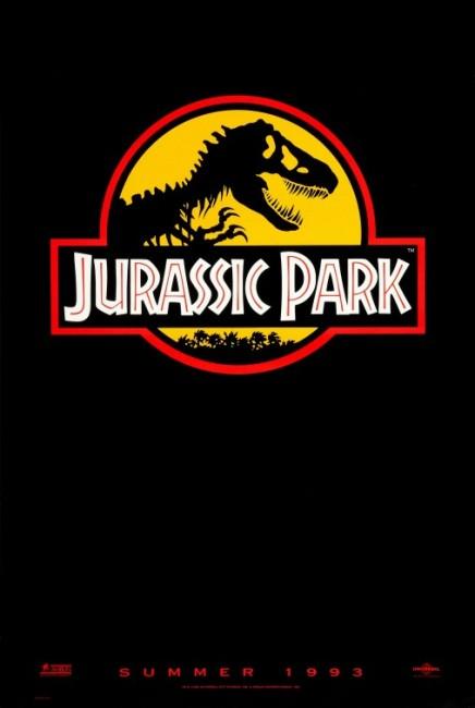 Jurassic Park (1993) poster