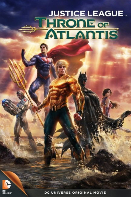 Justice League Throne of Atlantis (2015) poster