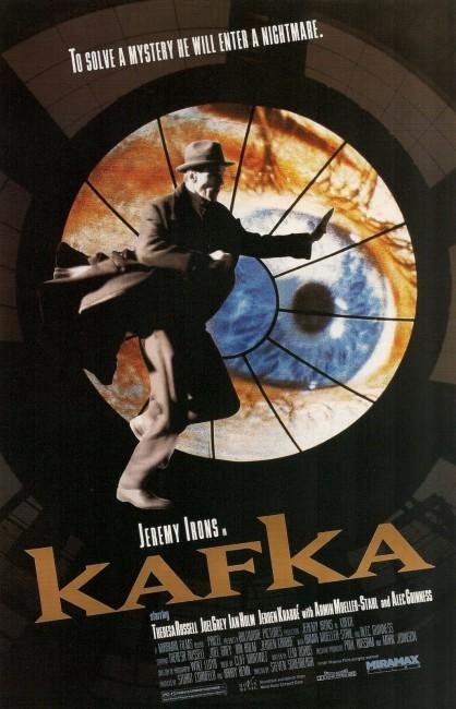 Kafka (1991) poster