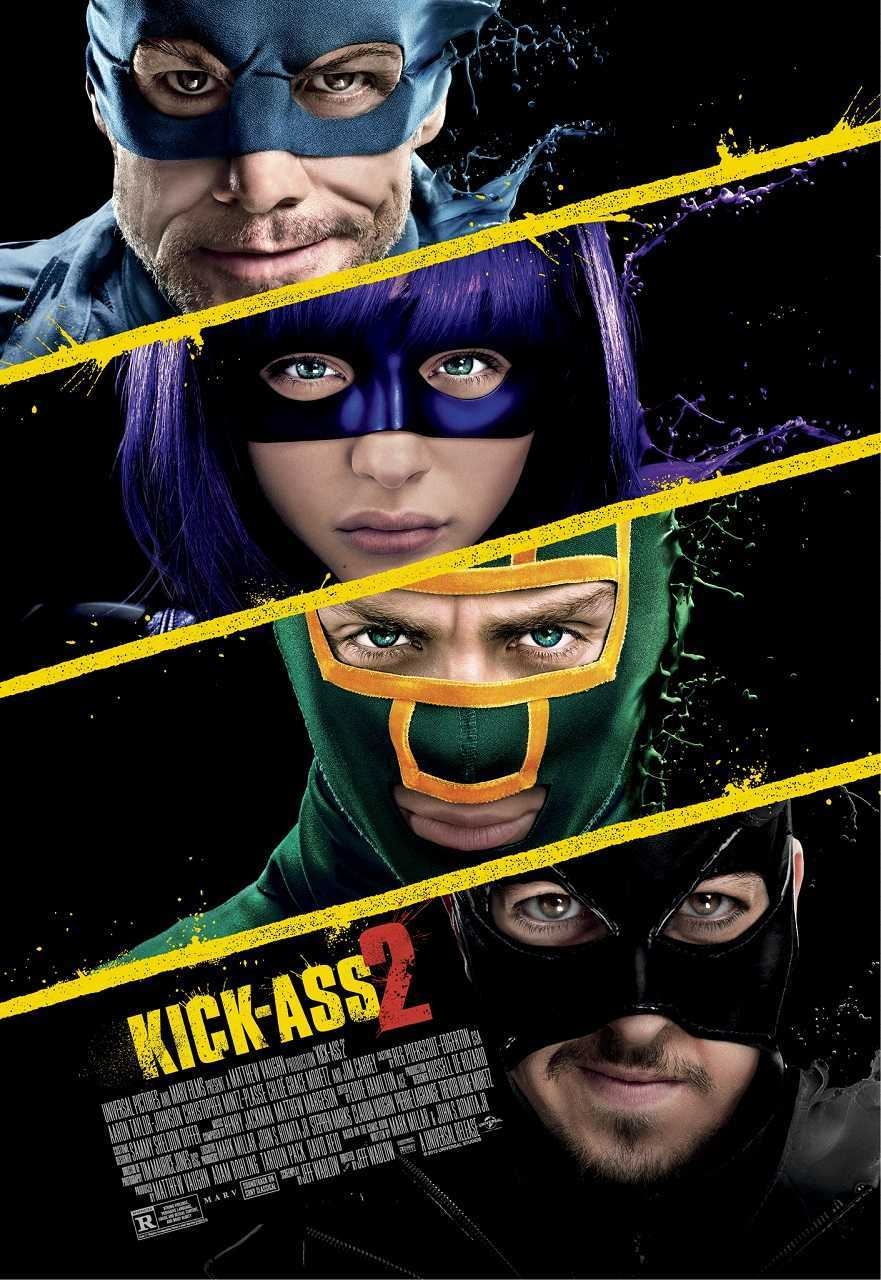 Kick-Ass 2 (2013) poster