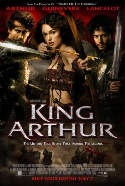 King Arthur (2004) poster