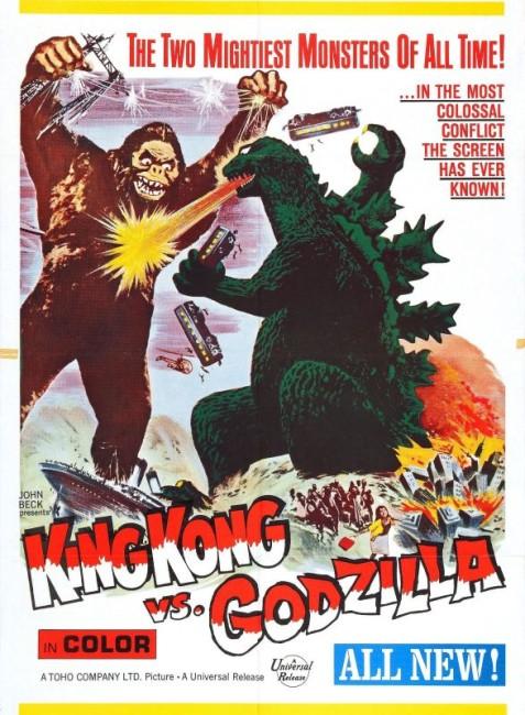 King Kong Vs Godzilla (1962) poster