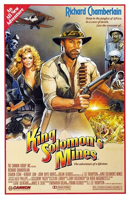 King Solomons Mines (1985) poster