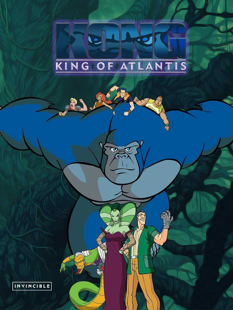 Kong, King of Atlantis (2005) poster