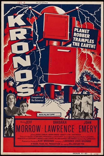 Kronos (1957) poster