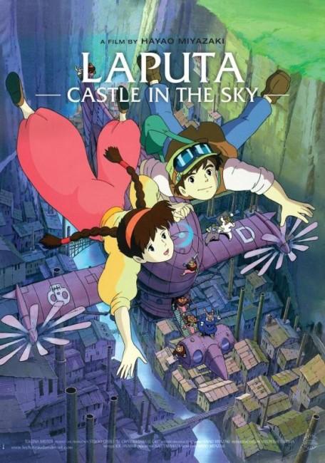 Laputa: Castle in the Sky (1986) poster