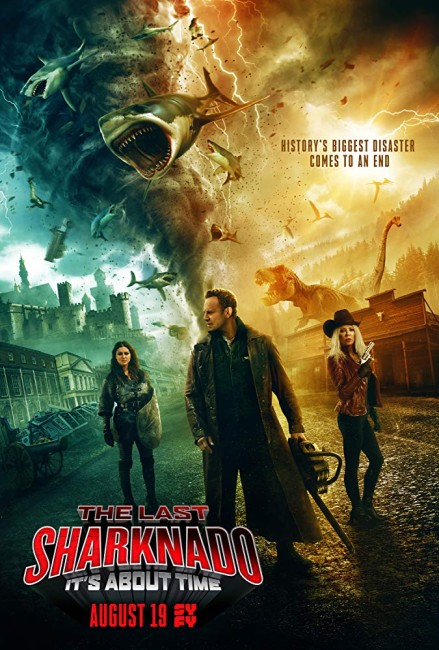 The Last Sharknado: It's About Time (2018) poster