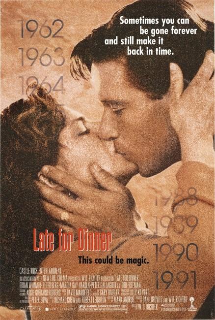Late for Dinner (1991) poster