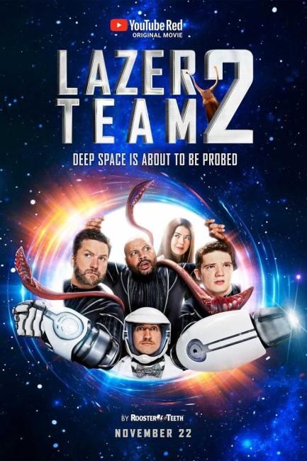 Lazer Team 2 (2017) poster
