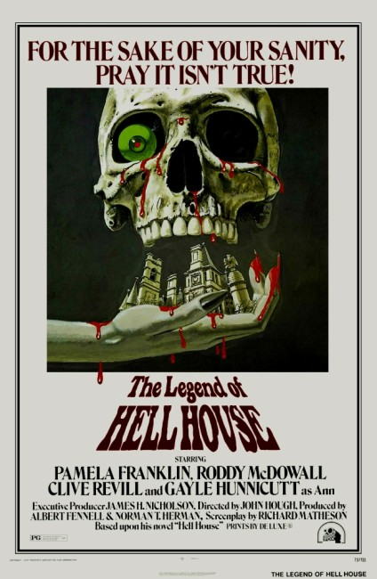 The Legend of Hell House (1973) poster