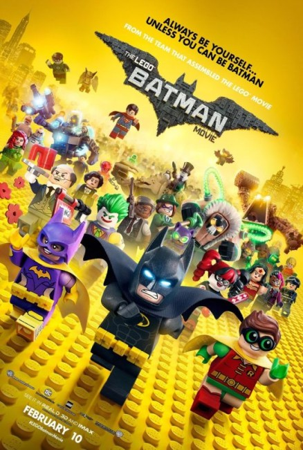 The Lego Batman Movie (2017) poster
