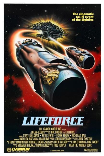 Lifeforce (1985) poster